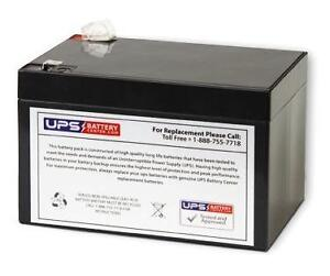 Ademco Security System Replacement Battery