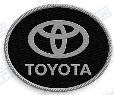 """TOYOTA  iron on embroidery patch 2.2 X 1.75/""""  EMBROIDERED auto car patches truck"""