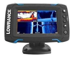 LOWRANCE ELITE5 TI TOUCH - FREE SHIPPING ACROSS CANADA/USA-SMOKING DEAL