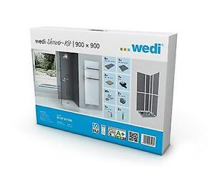 Wedi Waterproof Shower Kits - all sizes, Niche, Shower Tray, Drain, Grate, Curb, Toronto (GTA) Preview