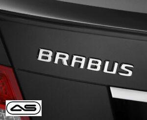 Brabus Badge Emblem Decal Sticker Rear Boot Trunk Tailgate Logo Mercedes Car 31r