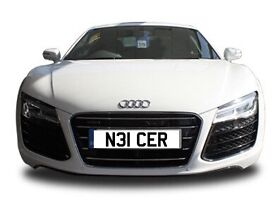Private licence plate N3ICER