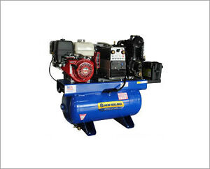 2016 NEW HOLLAND 30 Gal 3 in 1 Honda Compressor – NOW 30% OFF