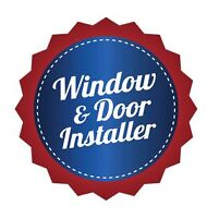 WINDOW AND DOOR INSTALLER AVAILABLE