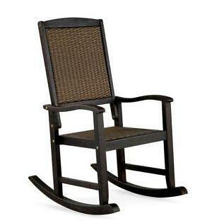 wicker rocking chair. Wicker Rocking Chair