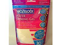 10 x Hozelock Water Storing Gel For Pots & Hanging Baskets Plants 250ml