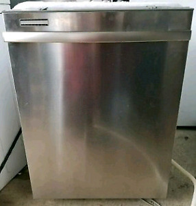 WHIRLPOOL STAINLESS STEEL DISHWASHER FOR SALE