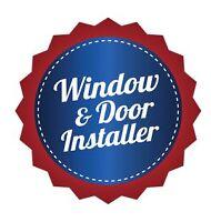 WINDOW AND DOOR INSTALLER AVAILABLE
