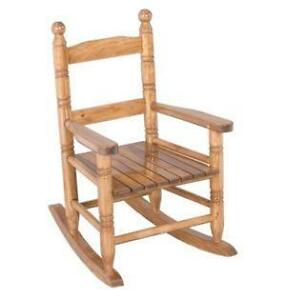 Childs Oak Rocking Chair