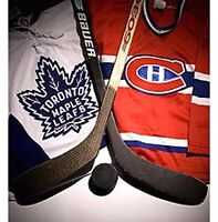 CANADIENS vs MAPLE LEAFS (24oct & 27feb) CHEAP TICKETS
