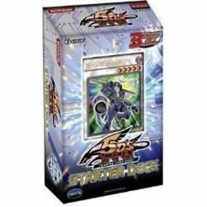 YUGIOH 5DS STARTER DECK W/ JUNK WARRIOR 5DS1 1ST EDITION FACTORY SEALED