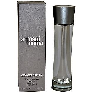 ARMANI MANIA * Giorgio Cologne for Men * EDT * 3.4 oz * BRAND NEW IN BOX on Rummage