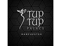 TUPTUP PALACE IS COMING TO MANCHESTER DEANSGATE! OPENING IN DECEMBER!