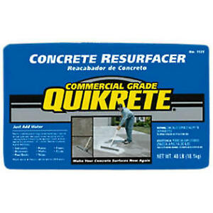 Quikrete Concrete Resurfacer -18kg Bag