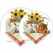 Rooster Burner Covers