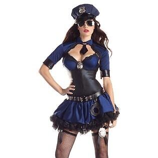 Part King Police Officer Halloween Costume