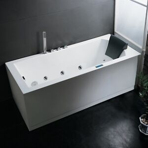 New AM154-60 Whirlpool Bathtub for One Person