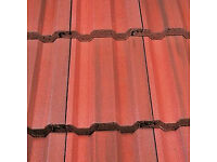 Marley Ludlow Plus Roof Tile - English Dark Red. For collection