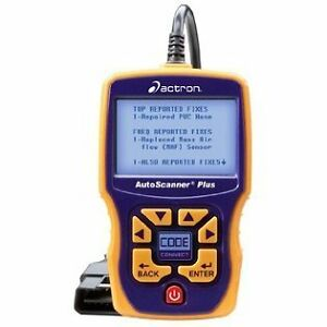 Actron CP9580A Enhanced AutoScanner Plus with OBD11 ABS CAN  & CodeConnect