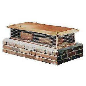 "NEW BigTop CBT1421K-12W Chimney Cover-Copper 12""Hx14""Wx21""D $594"