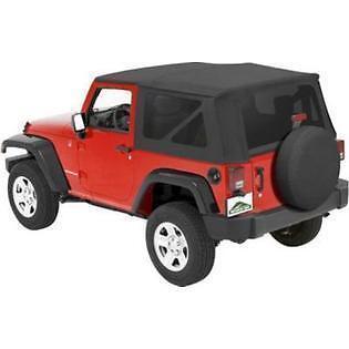 Pavement Ends Replay Top - Tinted - Black Diamond 10-18 Jeep Wrangler JK 2 Door
