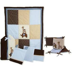 Complete Nursery Set - Decor - Crib Bedding - Lambs & Ivy