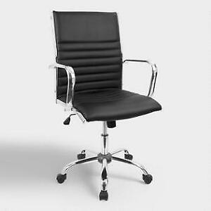 Pottery Barn Lowel Office Chair Black