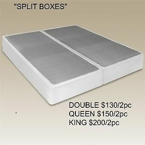BRAND NEW SPLIT BOXES-ALL SIZES AVAILABLE-EVEN CUSTOM HEIGHTS