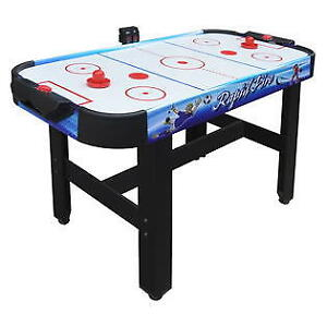Blue Wave NG1157M Rapid Fire 42-in 3-in-1 Air Hockey Multi-Game