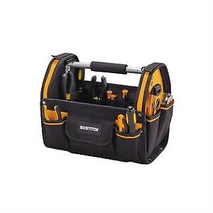 """Stanley Bostitch 18"""" Open Toolbox Tote Carpenter Bag"""