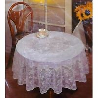 Lace Tablecloth/Victorian Style/white or pale pink