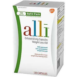 alli weight loss aid refills - 60 MCG - 120 CT