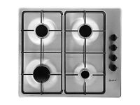Neff Built In 60cm Gas Hob - Stainless Steel - AMAZING VALUE
