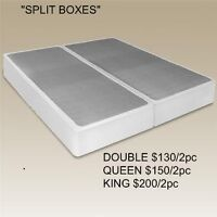 SINGLE-DOUBLE-QUEEN-KING-SPLIT & CUSTOM SIZES ALL AT MIKES