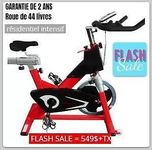VÉLO DE SPINNING FITNESS GO IMPACT NEUF EN BOÎTE - FREE SHIPPING BRAND NEW COMPACT SPINNING BIKE