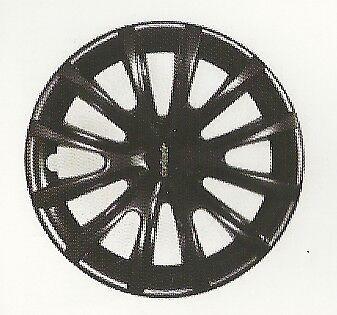 Nero, Cerchio 16 Farad Kit 4PZ Copricerchi Universali
