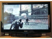 Samsung 40 Inch LCD HD TV. Digital FREEVIEW, Brand New REMOTE. NO OFFERS