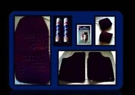 CAR ACCESSORIES BUNDLE - MATS/SEAT COVERS - 8 ITEMS - FOR SALE