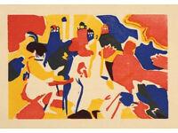 WASSILY KANDINSKY - 'Orientalisches' - original limited edition woodcut - c1938 (XXe Siecle, Paris)