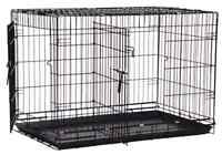 Cage pour chien / Dog cage 50$