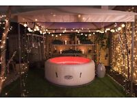 Inflatable Hot Tub Hire from the UK's No.1 Inflatable Hot Tub Hire Service