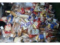 ANIMAL FEED - LOAFS OF BREAD - PACKS OF EGGS & VEGETABLES
