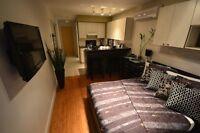 Plateau 1.5 meublé  / furnished Plus qu'une chambre d'hôtel a un