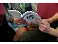 Volunteer supporting people affected by cancer with Macmillan @ Glasgow Libraries