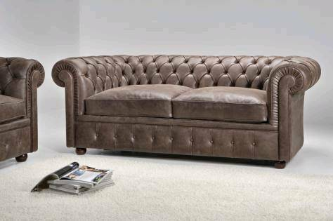 Chesterfield Sofa Suede
