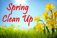 Spring Clean-up!!  Lawncare