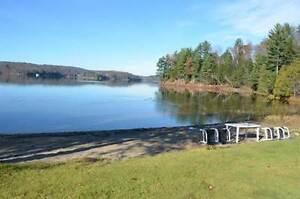 House 3 cottages 3.65 acres 890' on Three Mile lake in Muskoka