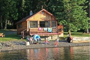Lake Front Cabin