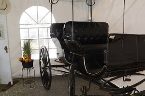 Aimish Antique Horse Carriage Surrey Buggy For Sale Williams Lake Cariboo Area image 4