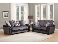 BRAND NEW RIO 3+2 FABRIC SOFAS FOR SALE